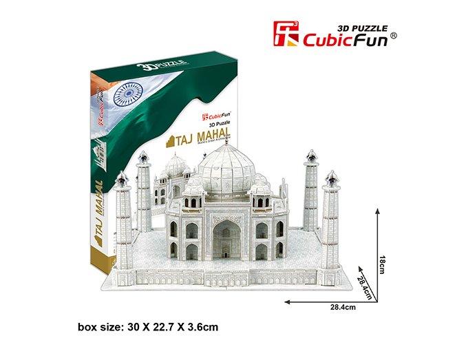 Taj Mahal (Indie) 3D - 87 dílků