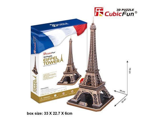 Eiffelova věž (Paříž) 3D - 82 dílky
