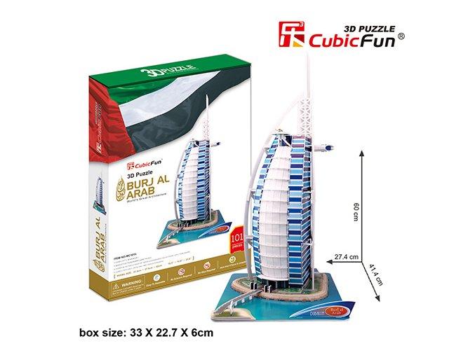 Burj Al Arab (Dubaj) 3D - 101 dílek