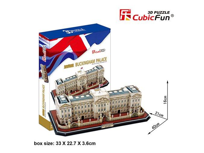 Palác Buckingham (Londýn) 3D - 72 dílky