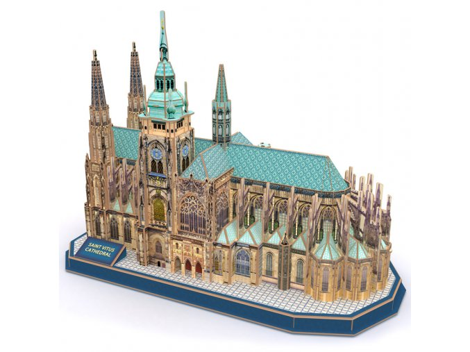 Chrám svatého Víta (Praha) - 3D - 193 dílky
