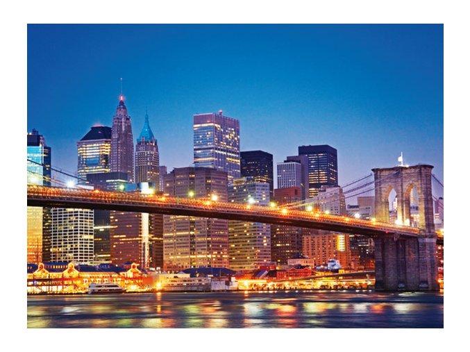 New York - Brooklynský most (Brooklyn Bridge) - HQC