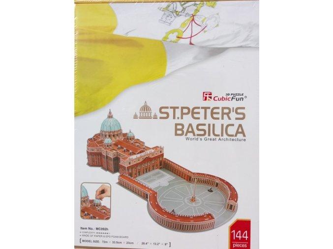 Bazilika sv. Petra - 144 dílky
