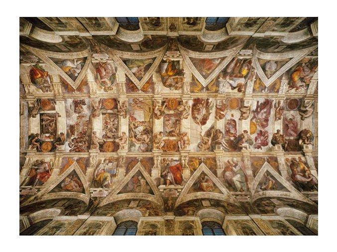 Michelangelo: Sixtinská kaple