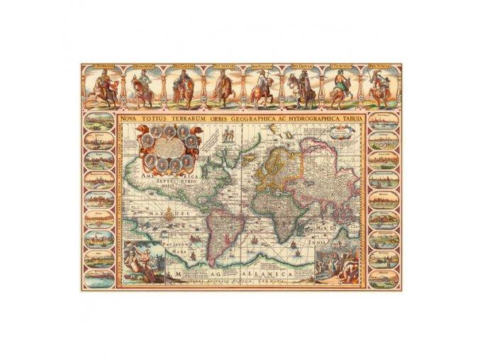 Historická mapa světa
