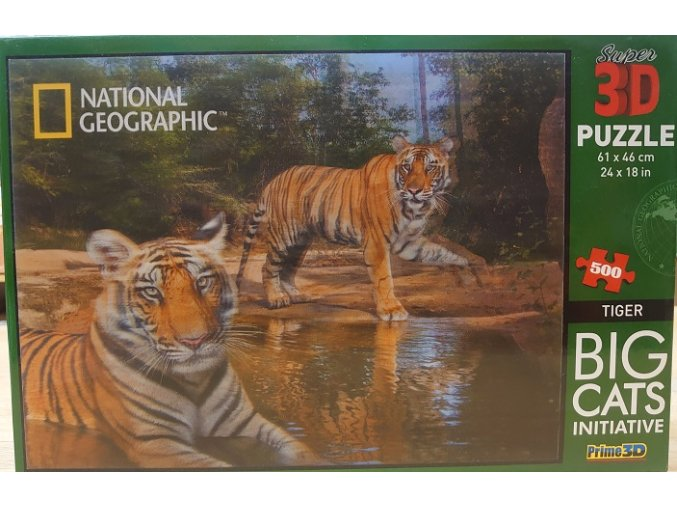 National Geographic: Tygři - 3D efekt