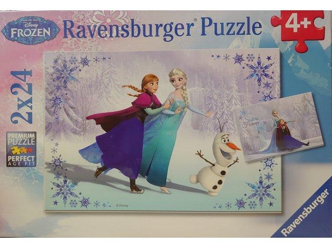 Walt Disney: Frozen Ledové království - 2 x 24 dílky