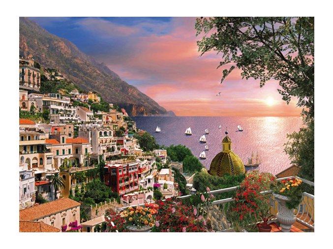 Romantická Itálie: Positano