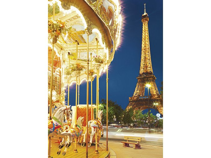 Kolotoč v Paříži, Eiffelova věž (Le Carousel)- HQC