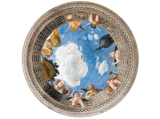 Mantegna: Svatební sál - HQC - kruhové
