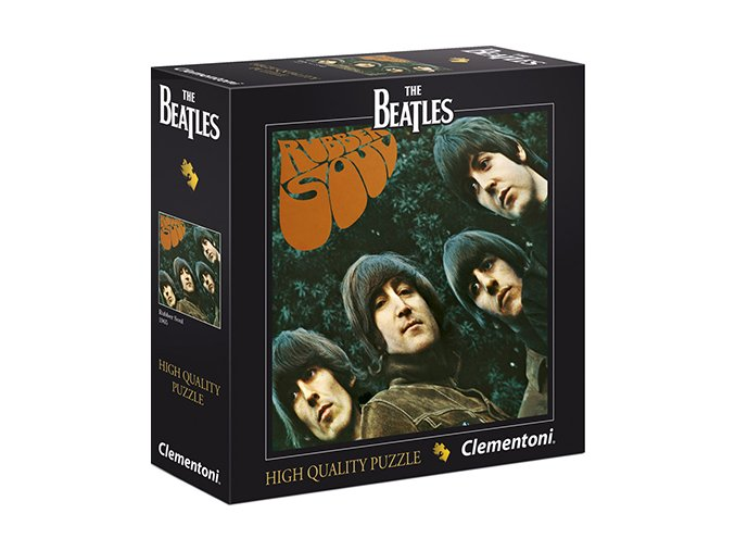 The Beatles: Rubber Soul 1965 - HQC - čtvercové