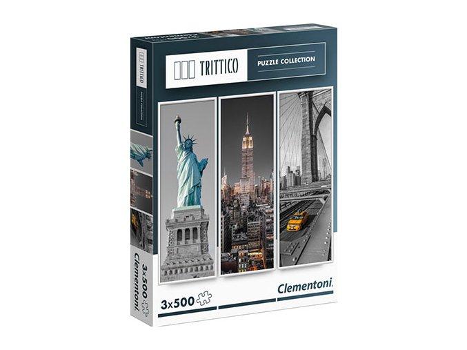 Trittico: New York - 3 x 500 dílků