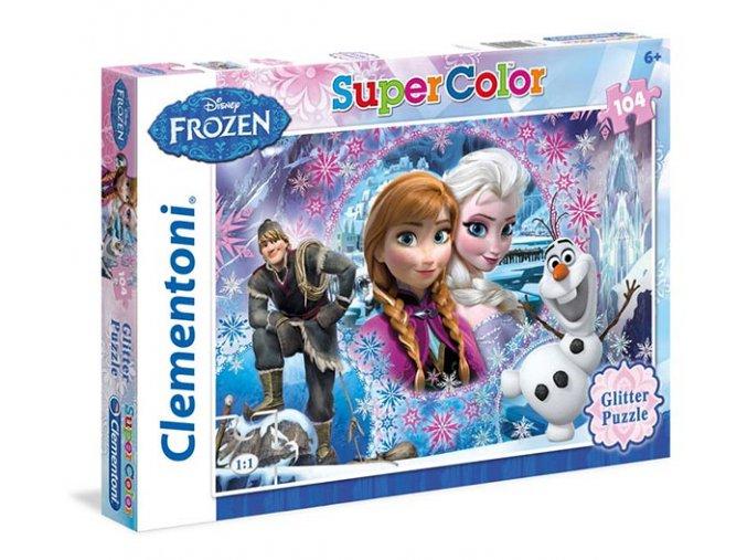 Walt Disney: Frozen - Glitter - 104 dílky