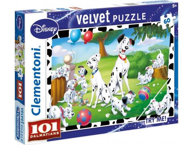 Walt Disney: 101 Dalmátinů - velvet