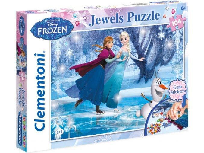 Walt Disney: Frozen Jewels - s barevnými kamínky