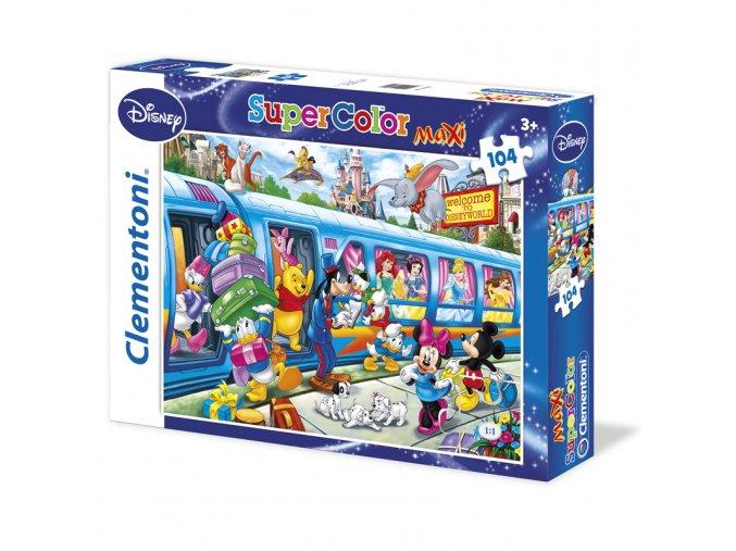 Walt Disney: Vlak - maxi puzzle