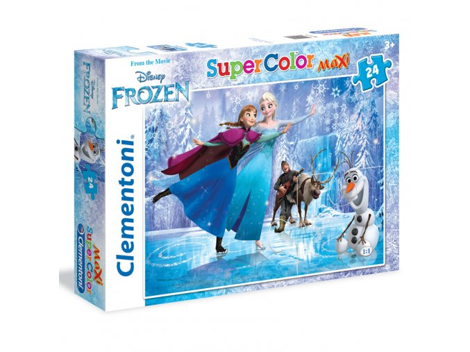 Walt Disney - Frozen: Ledové království - bruslení - maxi puzzle