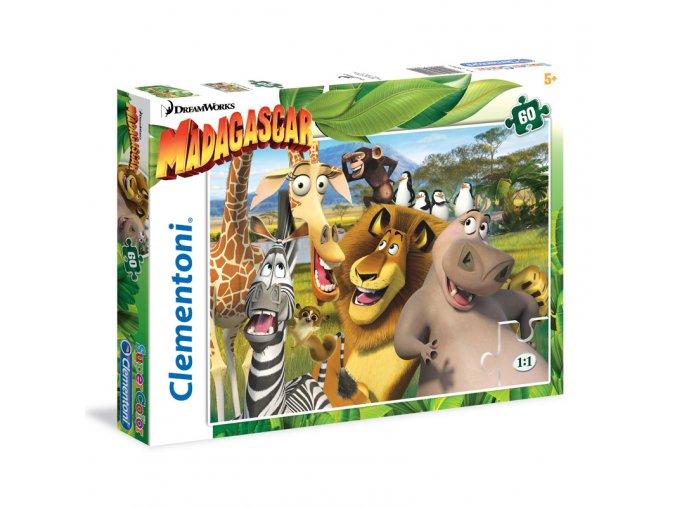 Madagaskar - supercolor - 60 dílků