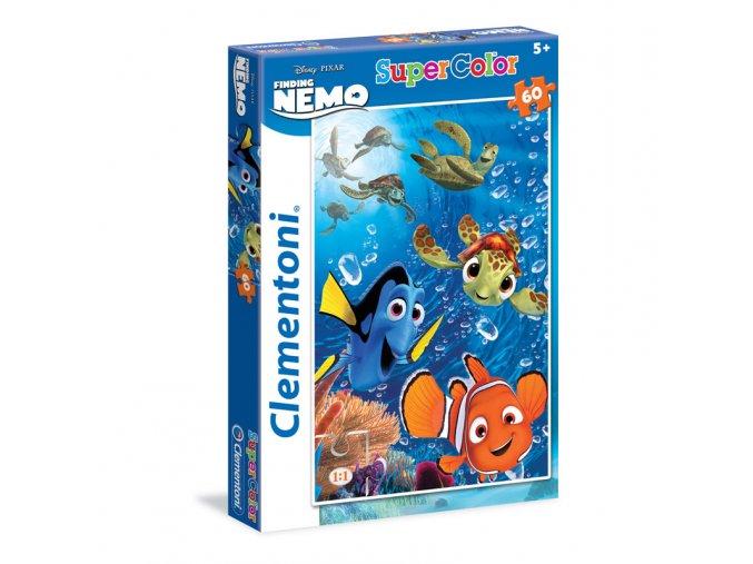 Walt Disney: Hledá se Nemo - supercolor - 60 dílků