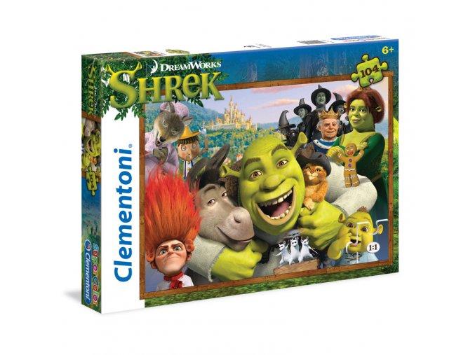 Shrek - supercolor - 104 dílky