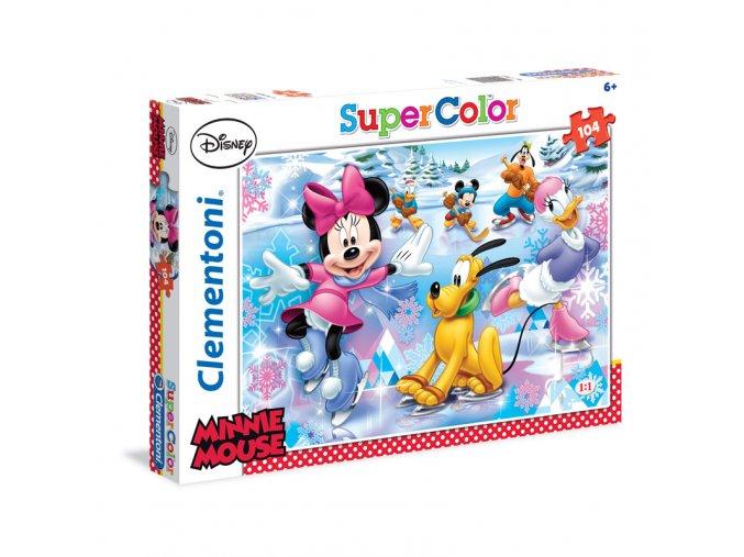 Walt Disney: Minnie - Sport- supercolor - 104 dílky