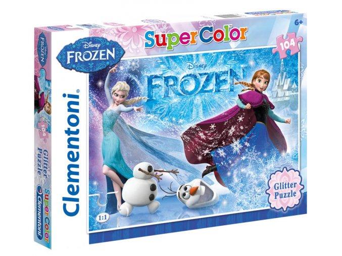 Walt Disney: Frozen Glitter - 104 dílky