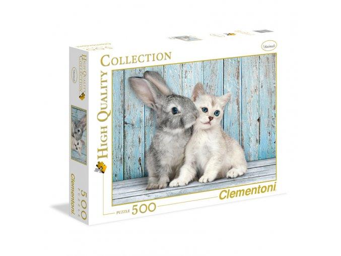 Kočka a králík - HQC