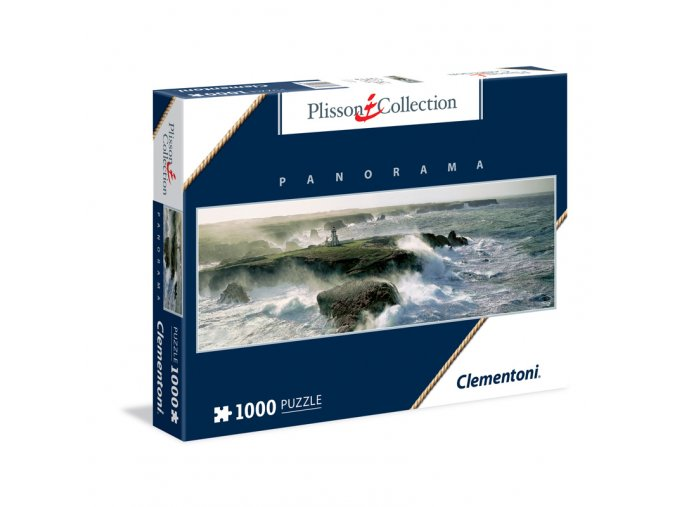Philip Plisson: Poryv větru na Pointe des Poulains - panorama