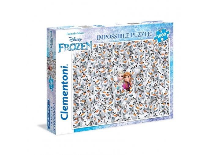 Frozen - Ledové království - Impossible puzzle - beznadějné