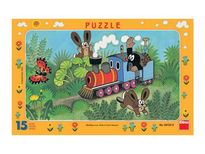 Krtek a lokomotiva - deskové
