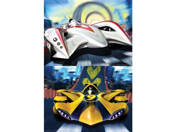 Speed Racer - 2 x 48 dílků