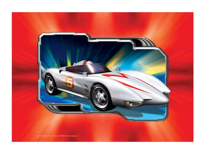 Speed Racer B - puzzlemanie
