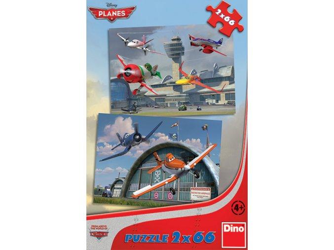 Walt Disney: Letadla: Dusty a přátelé - 2 x 66 dílků
