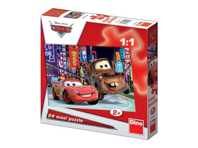Walt Disney: Cars 2 - 24 maxi dílků