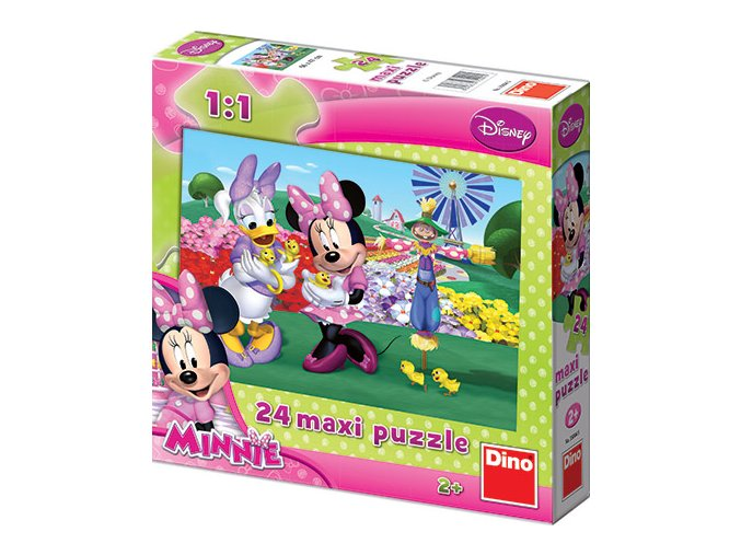 Walt Disney: Minnie Mouse - 24 maxi dílků