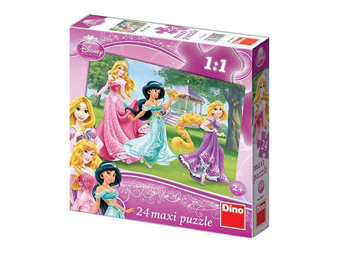 Walt Disney: Maxi puzzle Princezny - 24 extra velkých dílků