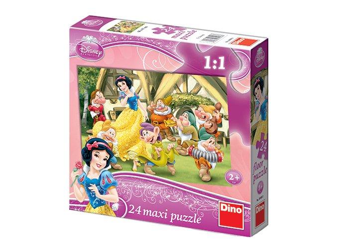 Walt Disney: Sněhurka a sedm trpaslíků - 24 maxi dílků