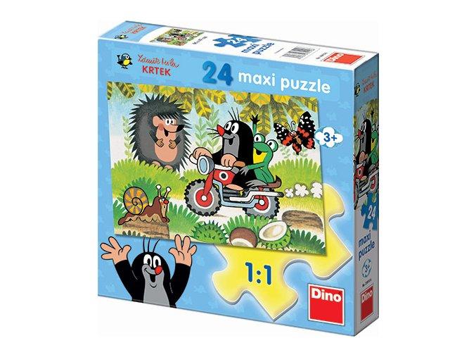 Maxi puzzle Krteček - 24 extra velkých dílků