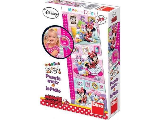 Walt Disney: Dětský metr Minnie -150 dílků + lepidlo