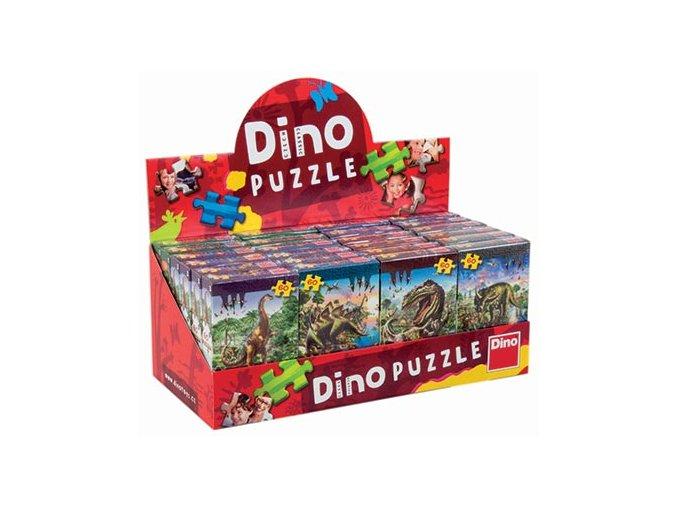 Tyranosaurus Rex a Stegosaurus - 2 x 60 dílků + 2 figurky dinosaurů