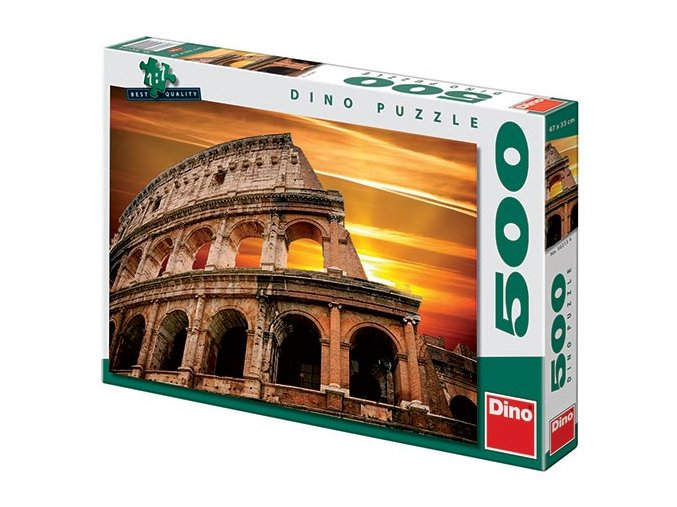 Řím Koloseum - západ Slunce