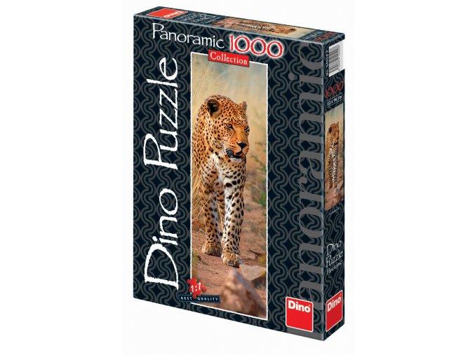 Leopard z Keni - vertikální