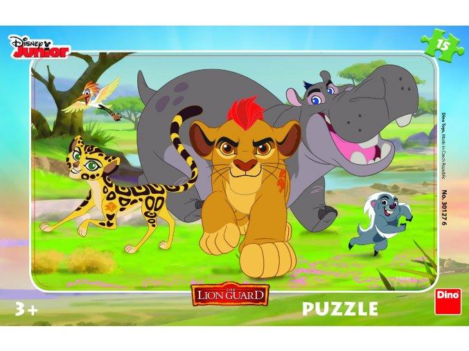 Walt Disney: Lví hlídka - deskové puzzle
