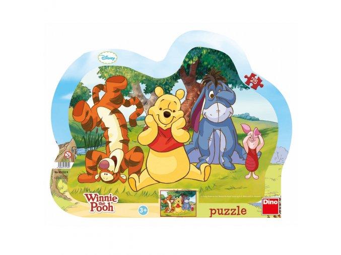 Walt Disney: Schovávaná s medvídkem PÚ - kontura - deskové