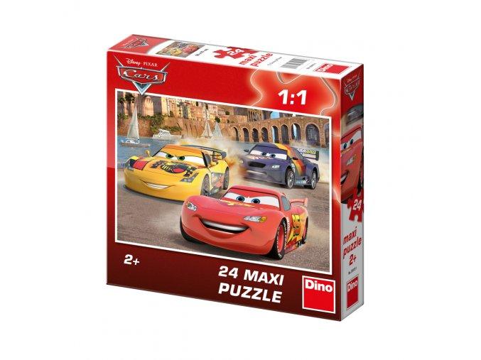 Walt Disney: Cars- Veselý blesk - 24 maxi dílků