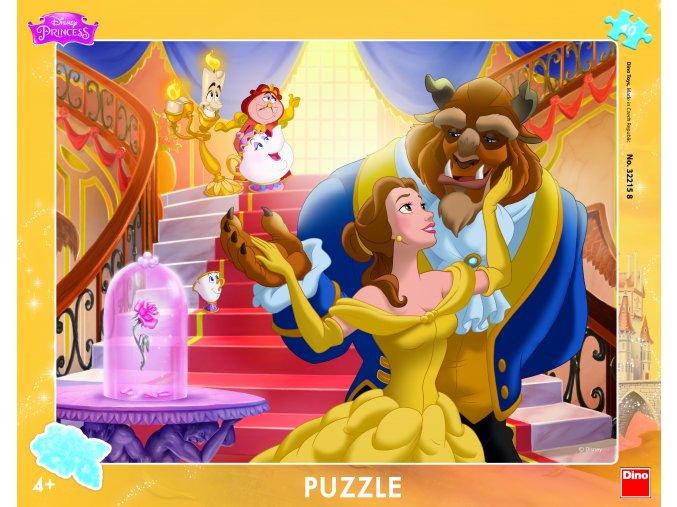 Walt Disney: Kráska a zvíře - deskové