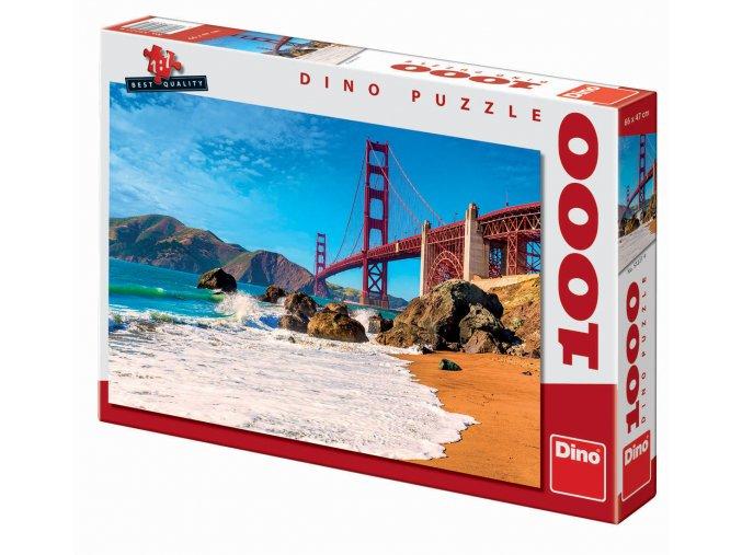 Most Golden Gate v San Francisku(Golden Gate Bridge)