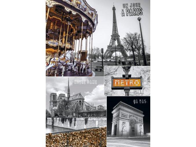 Paříž - koláž