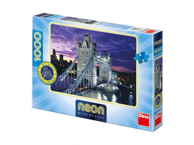 Tower Bridge - neon - svítí ve tmě