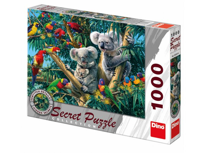 Secret collection: Koaly - najděte 12 skrytých detailů